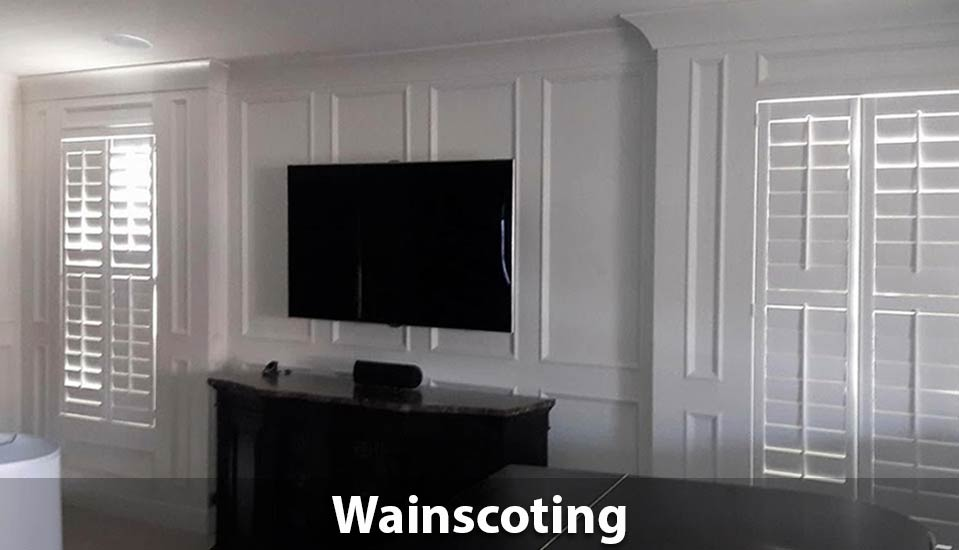 wainscoting - professional installs